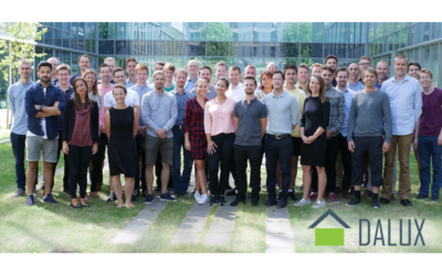 Dalux team: from 20 to 60 employees since 2017