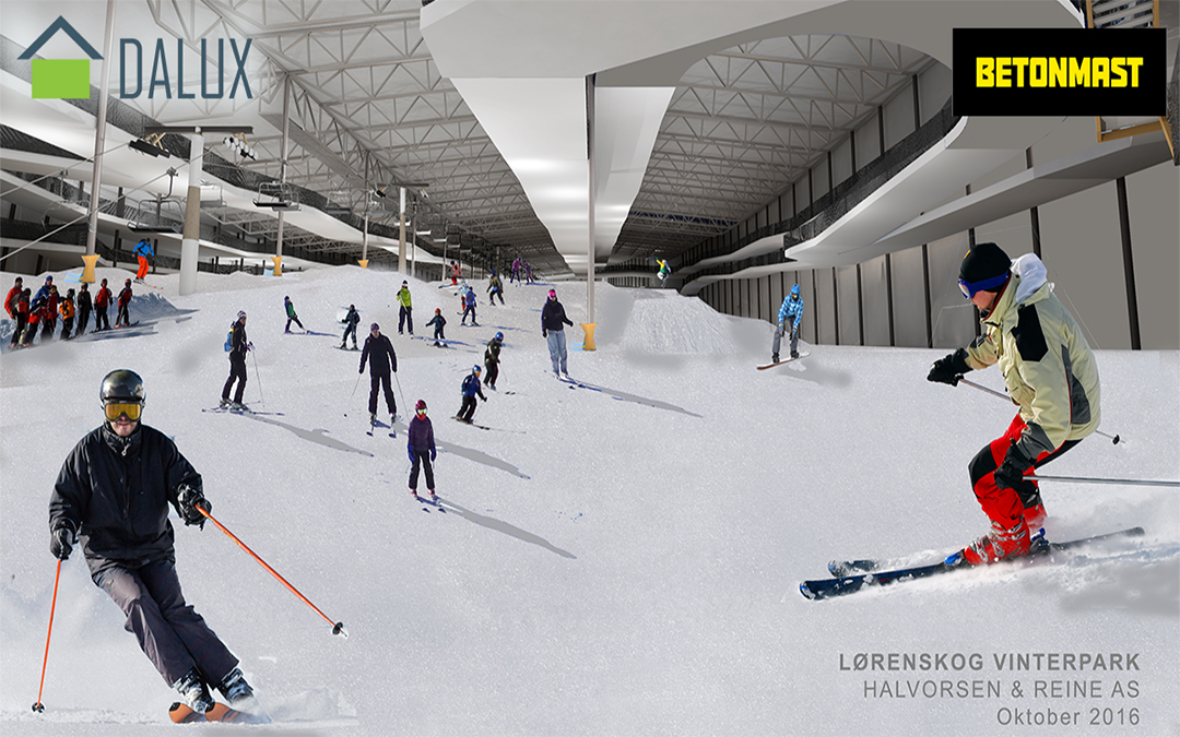 The world's largest indoor snow park uses Dalux
