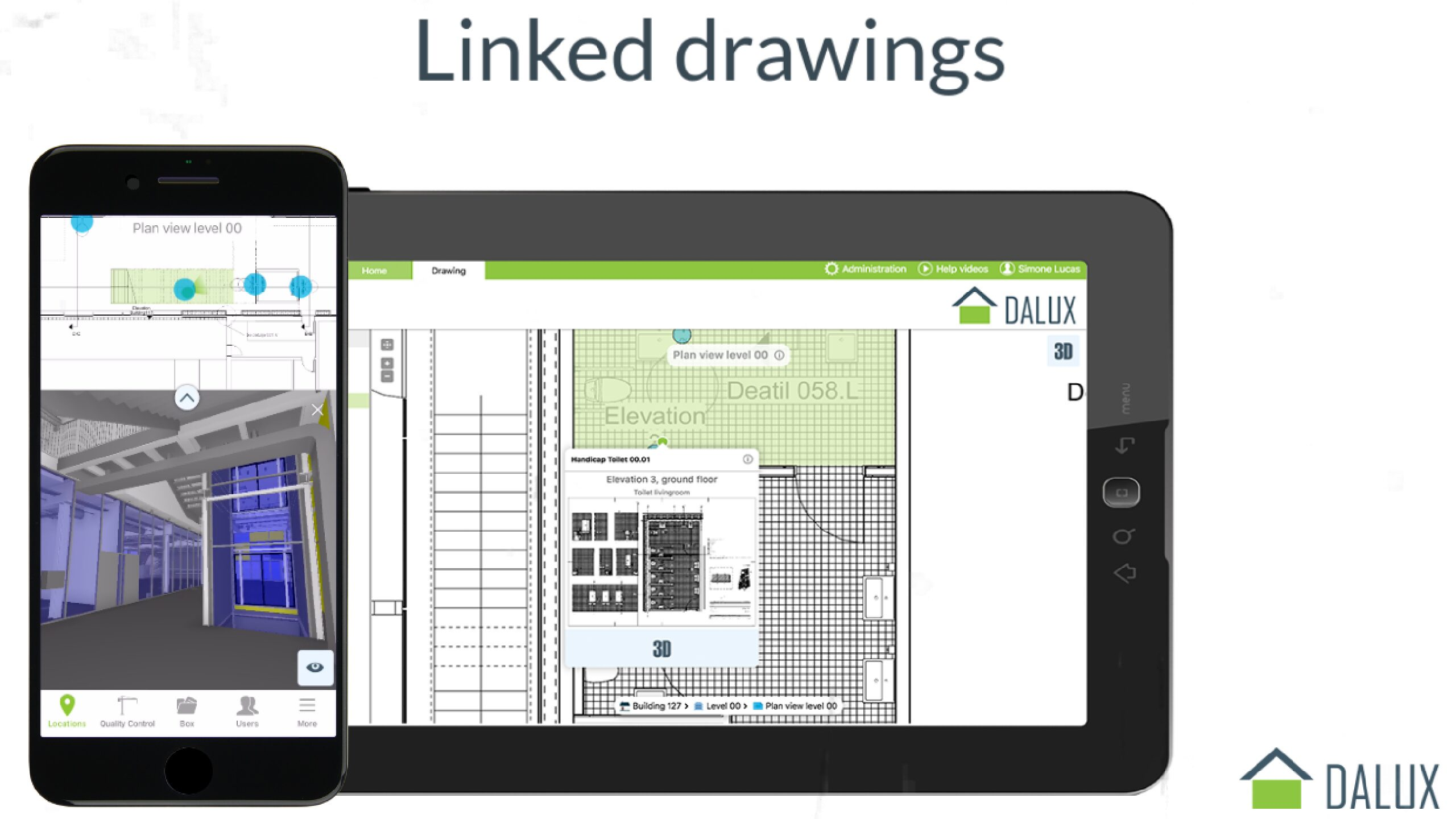 New Feature: Linked Drawings in Free BIM Viewer