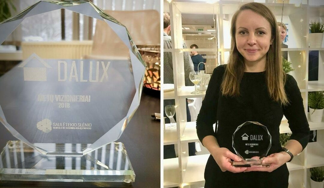 Dalux Recognized as Lithuania's Visionary of the Year