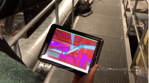 Copenhagen Airports A/S use Dalux Augmented Reality