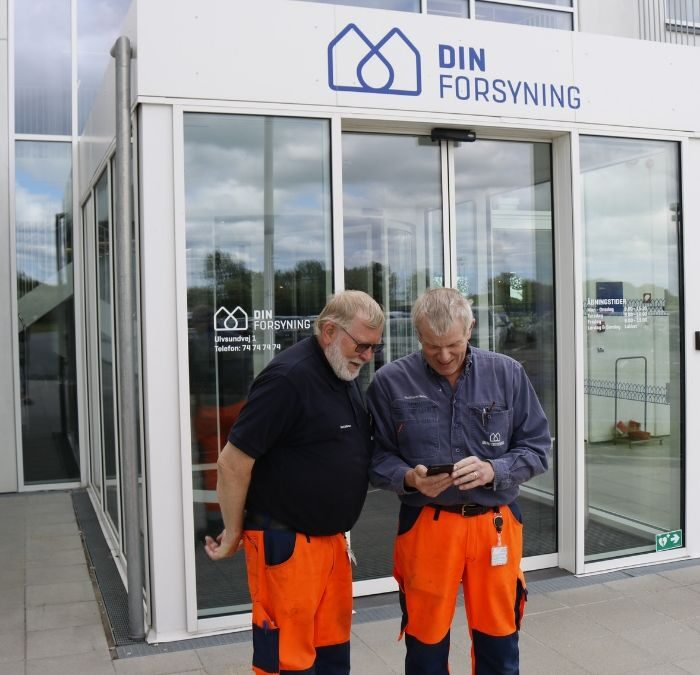 DIN Forsyning: Dalux FM supports high quality and steady supplies for customers