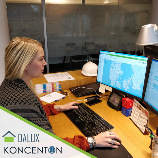 Denmark's largest real estate investor, Koncenton, chooses Dalux